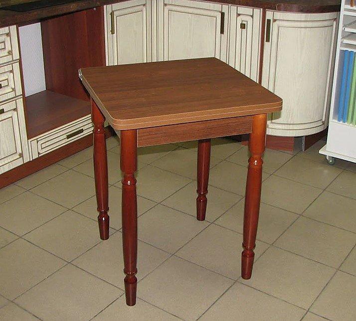 Стол раскладной Ломберный (ножки дерево, цвет: белый, орех) - 2400 рублей
