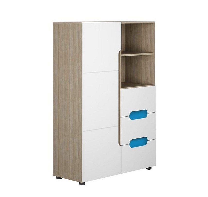 Шкаф низкий комбинированный Палермо-3 Юниор Стиль