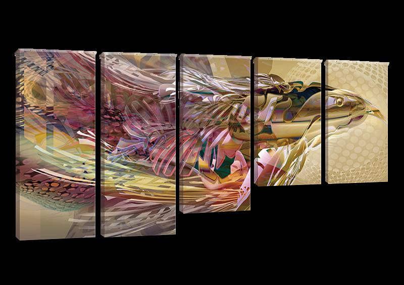 Модульная картина Abstract