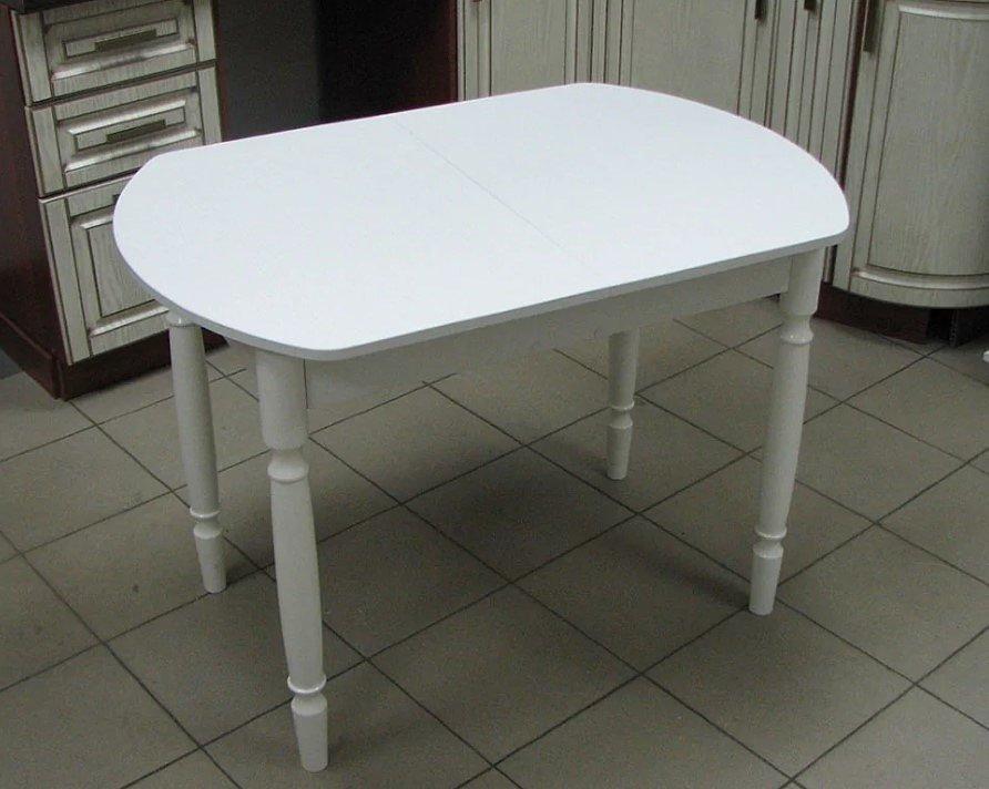 Стол раскладной Евро (ножки дерево, цвет: белый, венге, орех) - 2800 рублей